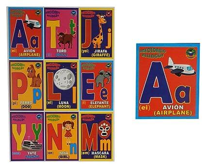 Prodidac Jr Alphabet Bingo Game/Loteria Abecedario