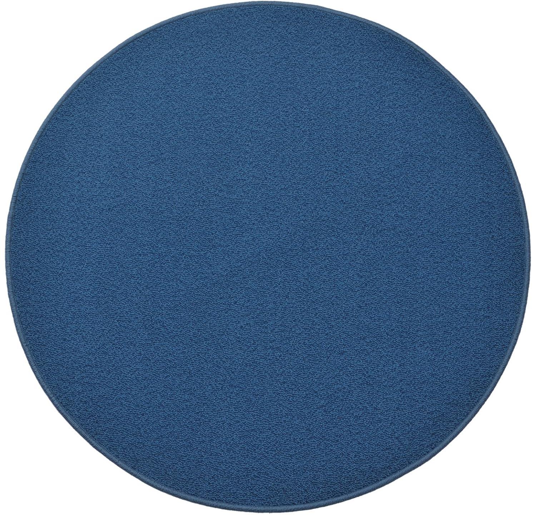 円形ラグ 撥水 滑り止め付 径160cm マリンブルー B06XQYBP7F 径160cm,08.マリンブルー