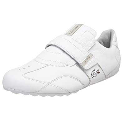 b10ca5819 Lacoste Swerve Keyline Mens White Sneakers Athletic Sneakers Shoes UK 10   Amazon.co.uk  Shoes   Bags
