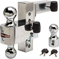 """$124 » Uriah Products Aluma-Tow 6"""" Drop Ball Mount for 2"""" Receiver (UT623410)"""
