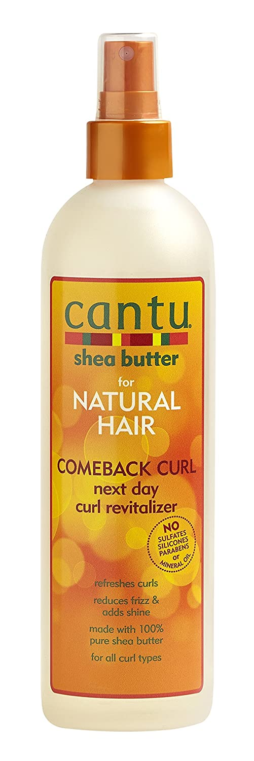 Cantu Shea Butter for Natural Hair Comeback Curl Next Day Curl Revitalizer 355 ml 817513015656