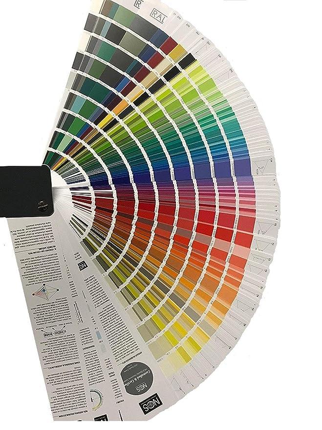 Ncs Farben In Ral.Charta Von Farben Ncs 1950 Index Ral Classic Farbkarten