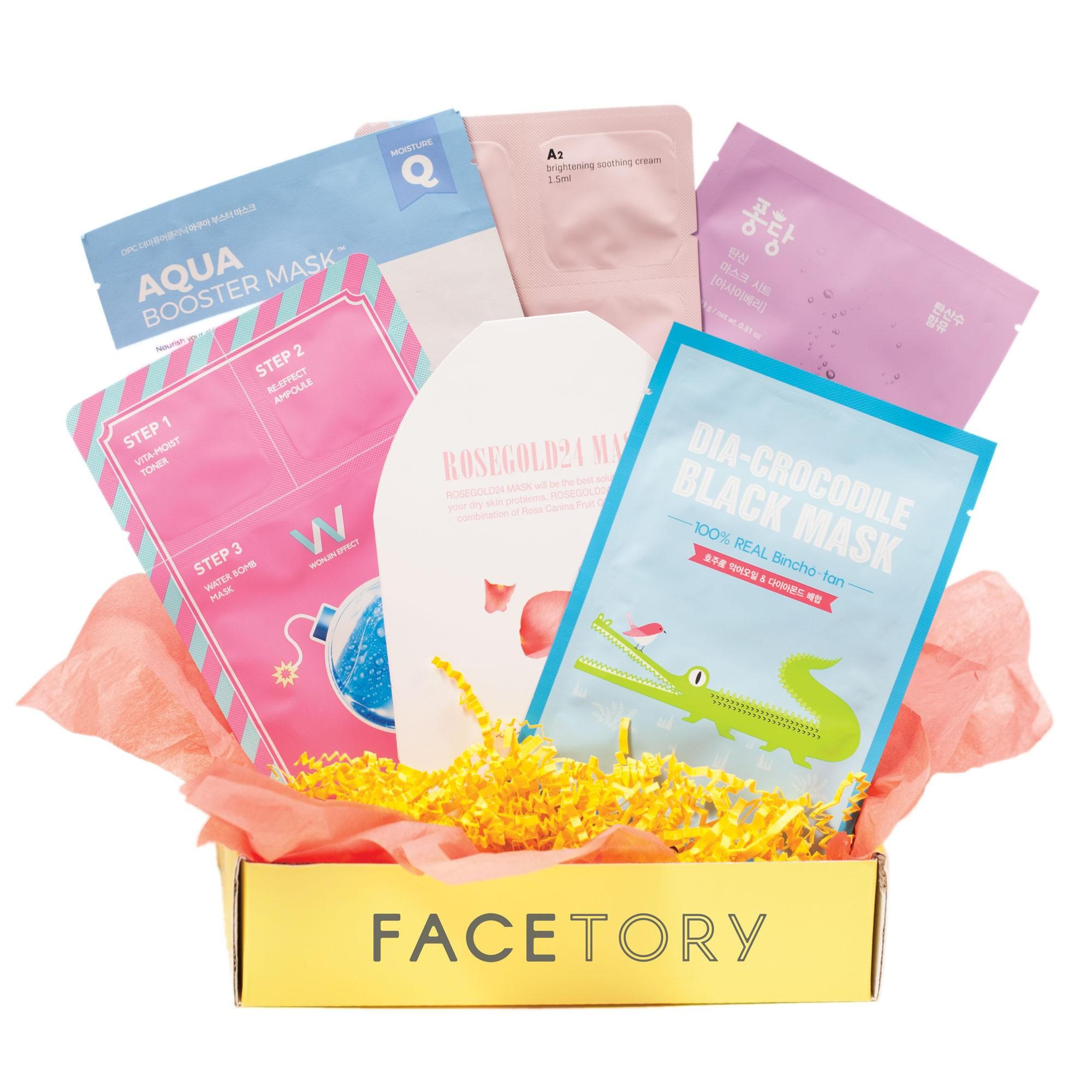 FaceTory - Handpicked Korean Sheet Masks Subscription Box: 4-Ever Fresh
