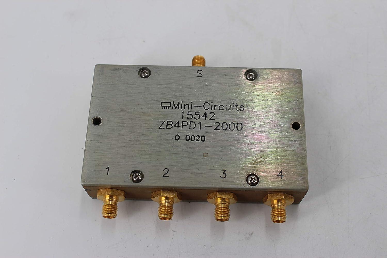 Amazon com: Mini Circuit ZB4PD1-2000 Coaxial Power Splitter
