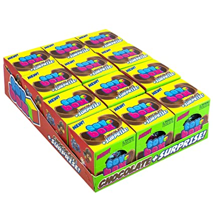 Caja de juguetes de chocolate – 12 unidades – divertido ...