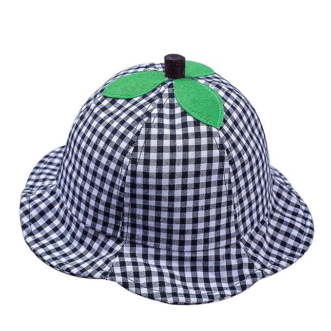 ylovego Cute Baby Summer Hat for Boy Girl Cartoon Cotton Baby Sunhat  Adjustable Kids Bucket Cap 99ec082fac51