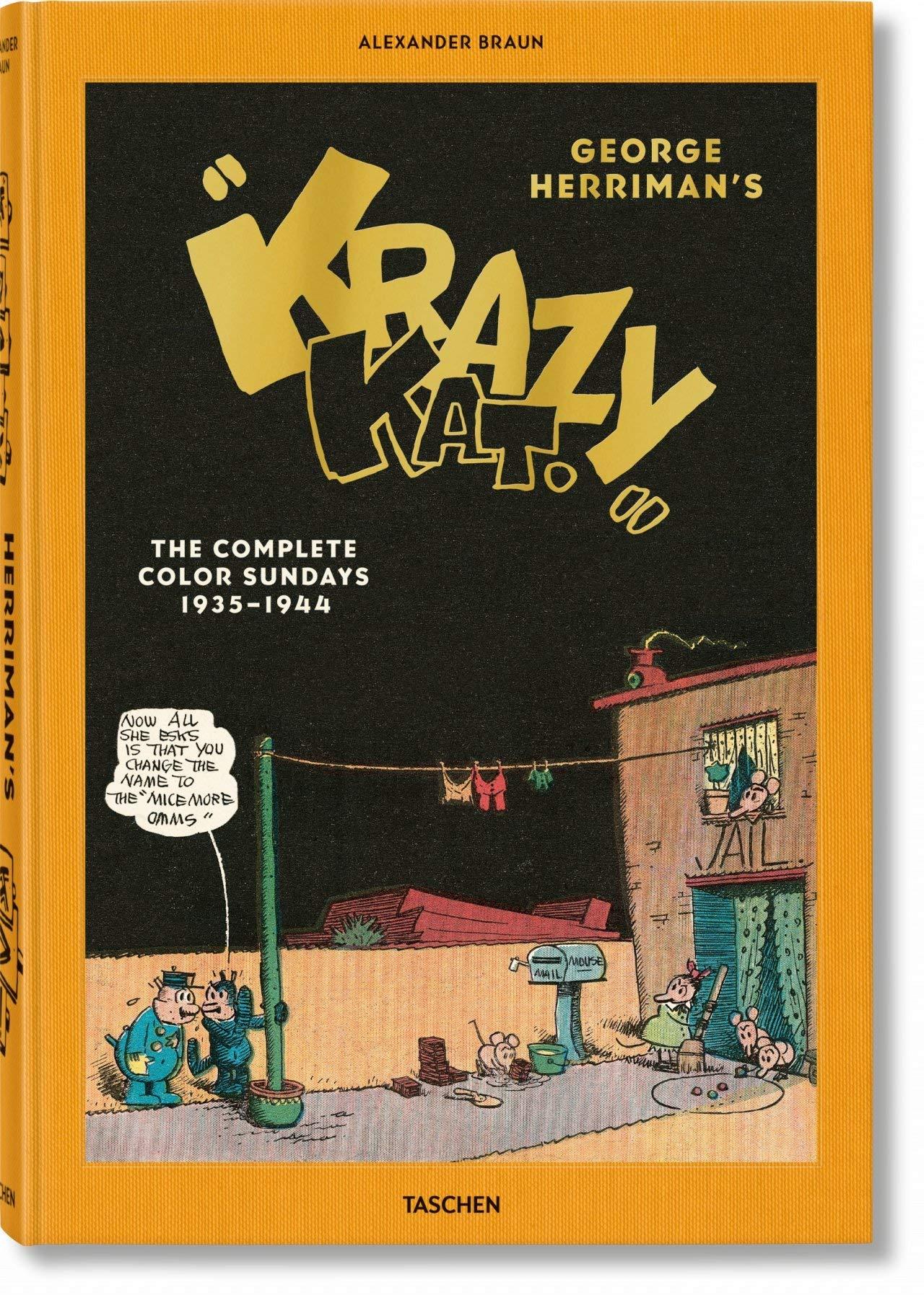 "George Herriman's ""Krazy Kat"". The Complete Color Sundays 1935 ..."