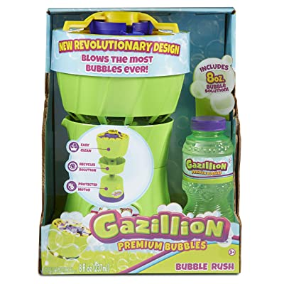 Gazillion Bubble Rush Bubble Blower Machine: Toys & Games