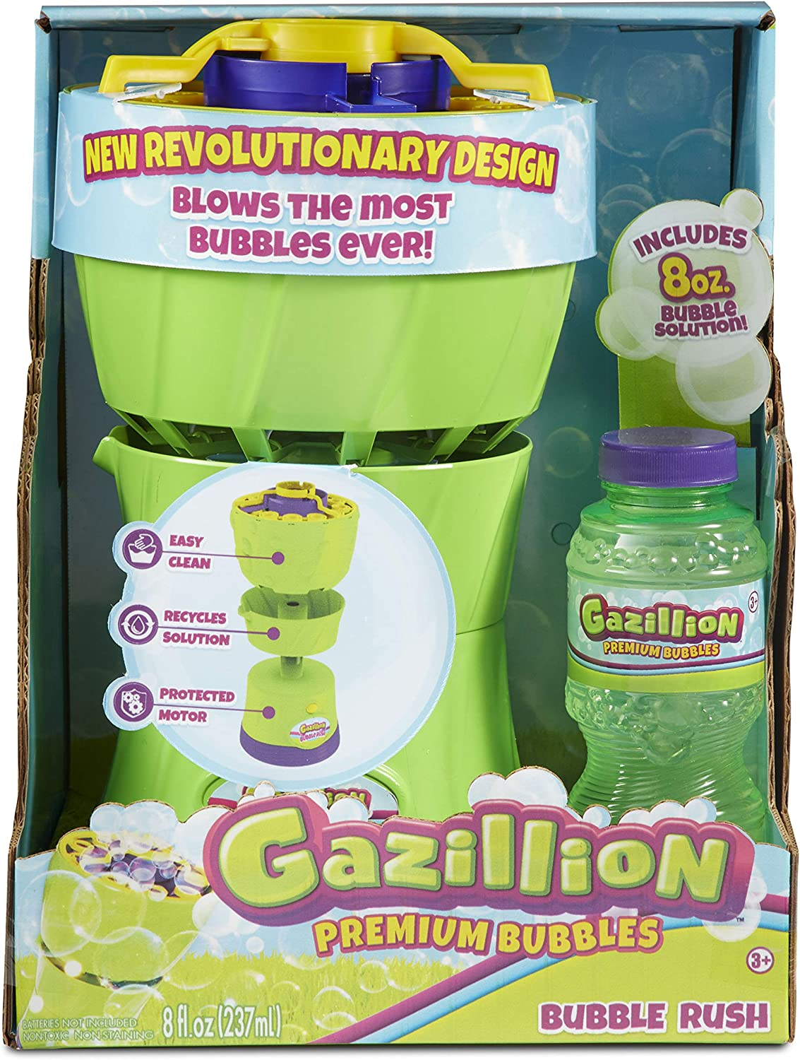 Gazillion Bubble Rush Bubble Blower Machine