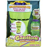 Gazillion Bubble Rush Bubble Blower Machine Bubbles for Kids, Purple/Green