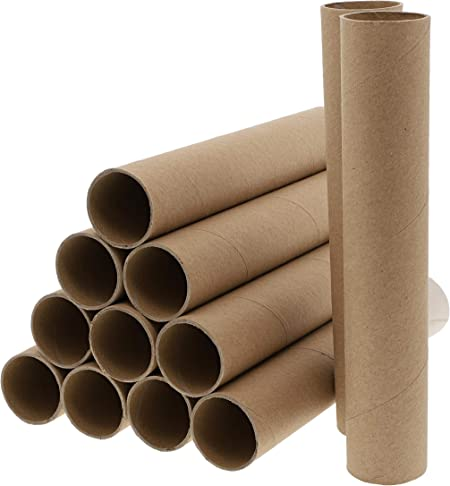 PandaHall Elite 20 STK Kamel 3,9Pappr/öhren Robuste Bastelrollen Papierr/öhren Leere Toilettenpapierrollen Bastelbedarf f/ür DIY Kreative Handgefertigte Klassenzimmerprojekte
