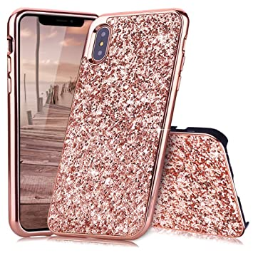 Coque Iphone X Or Rose Coque Iphone 10 Slynmax Silicone