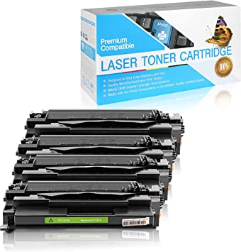 Black,1 Pack SuppliesOutlet Compatible Toner Cartridge Replacement for HP 87A CF287A