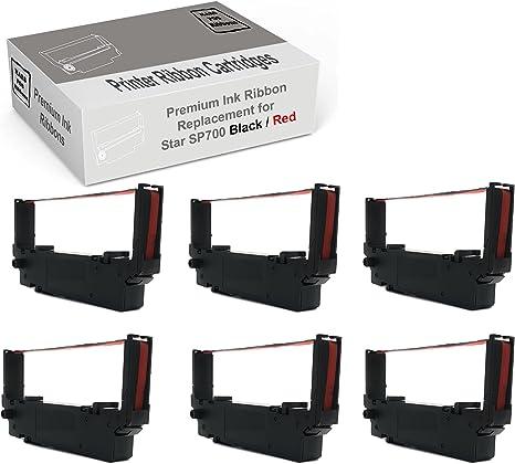 Amazon.com: Star SP700 cinta impresora paquete de 6 Star ...