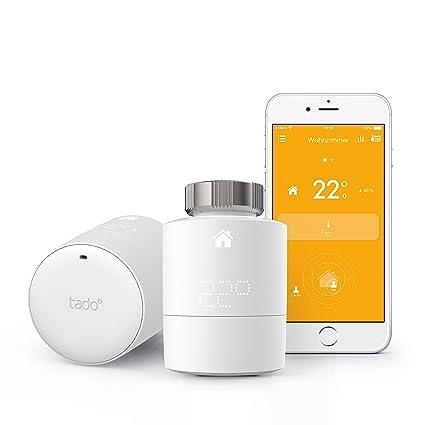 Tado -Termostato Inteligente - control inteligente de la calefacción por geolocalización y a través del smartphone
