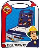 Undercover FSBT4120 - Malset Feuerwehrmann Sam, 23 teilig, rot