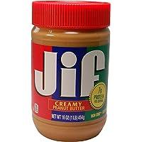 JIF 杰夫 柔滑花生酱 454g(亚马逊进口直采,美国品牌)