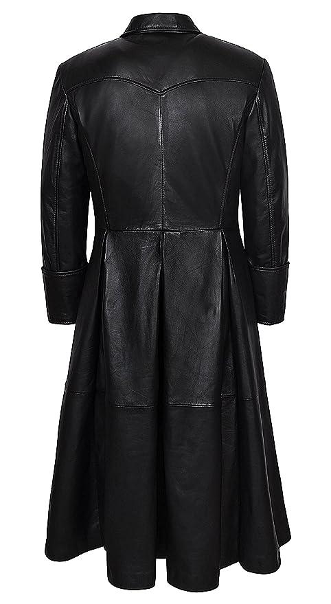 ce2b2903e Smart Range Men's Morpheus Full Length Matrix Leather Jacket Coat
