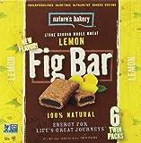 Nature's Bakery Whole Wheat Fig Bars - Lemon 2oz. - 6ct twin packs