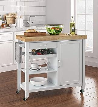 Amazon.com - Truly Home FUBC10044A Denver Kitchen Cart ...