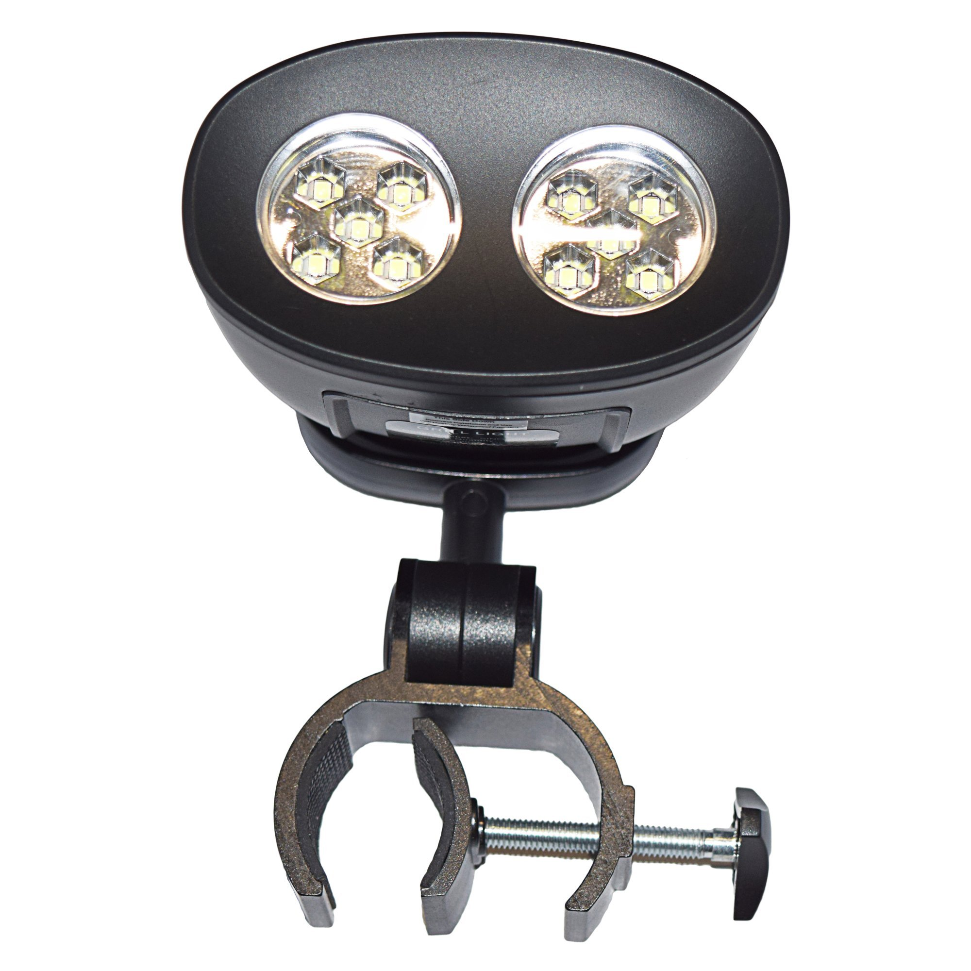 Barbecue Grill Light is Handle Mount, Waterproof Extreme Beam of Light - Led Tool for the Outdoor, Gas, Charcoal, Electric BBQ, Smoker, Brookstone, Green Egg, Kenmore, Kamado, Traeger & Weber