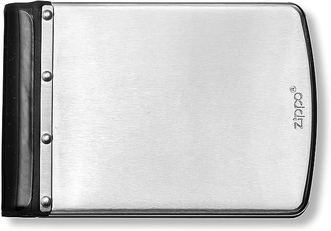 Zippo - Cartera de Acero Inoxidable Cepillado con Bloqueo RFID ...