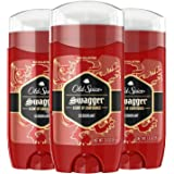 Old Spice Aluminum Free Deodorant for Men, Swagger Lime & Cedarwood Scent, Red Collection, 3 Oz (Pack of 3)