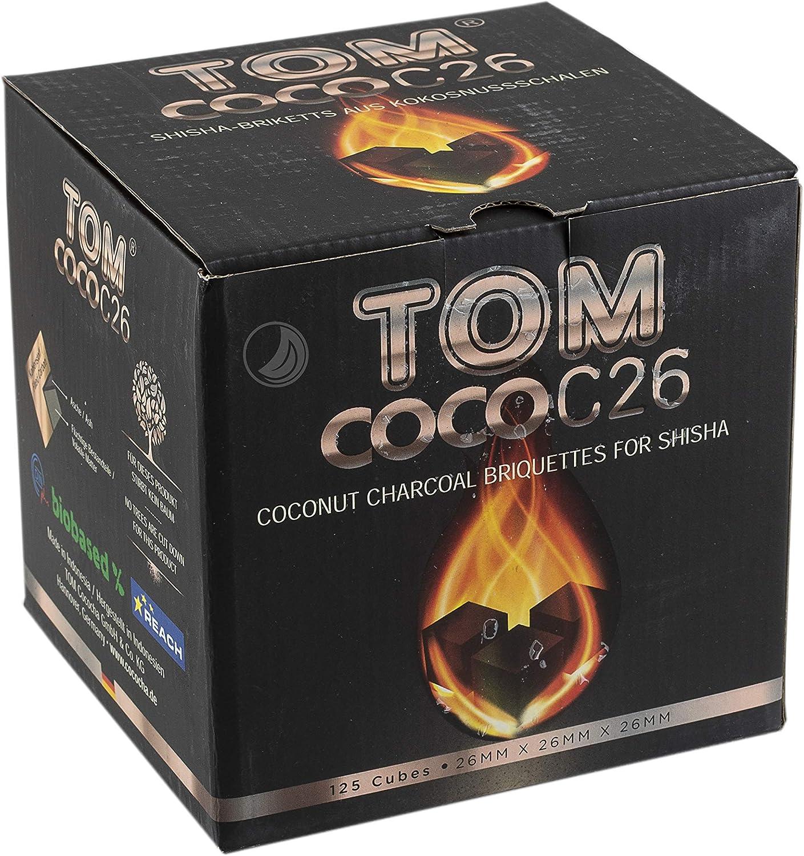 Tom Cococha Cococha coco de carbón C26 para Shisha 2 kg