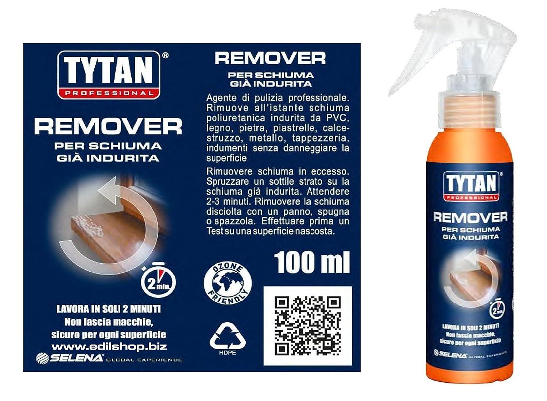 Limpiador para espuma poliuretano Già indurita. Tytan de Remover 100 ml.: Amazon.es: Bricolaje y herramientas