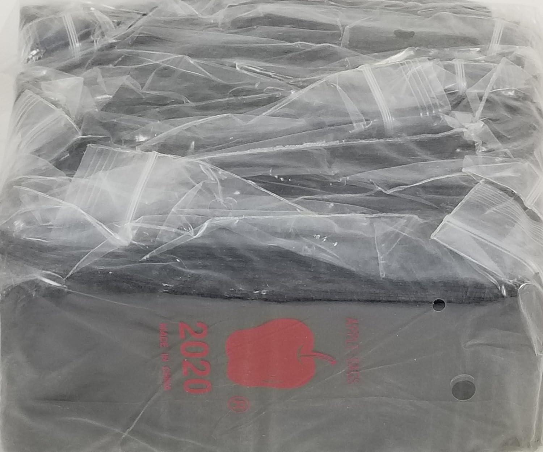 "100 Apple Baggies Yin Yang 1.75 x 1.75/"" ziplock bags 175175"