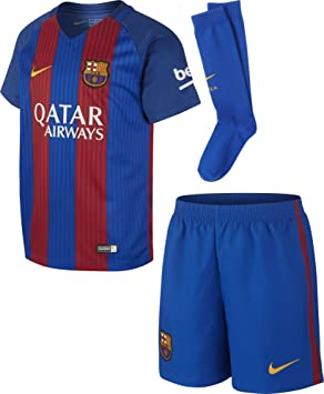 18bee20b05d Nike FCB LK HM KIT - Kit FC Barcelona line for Unisex Children