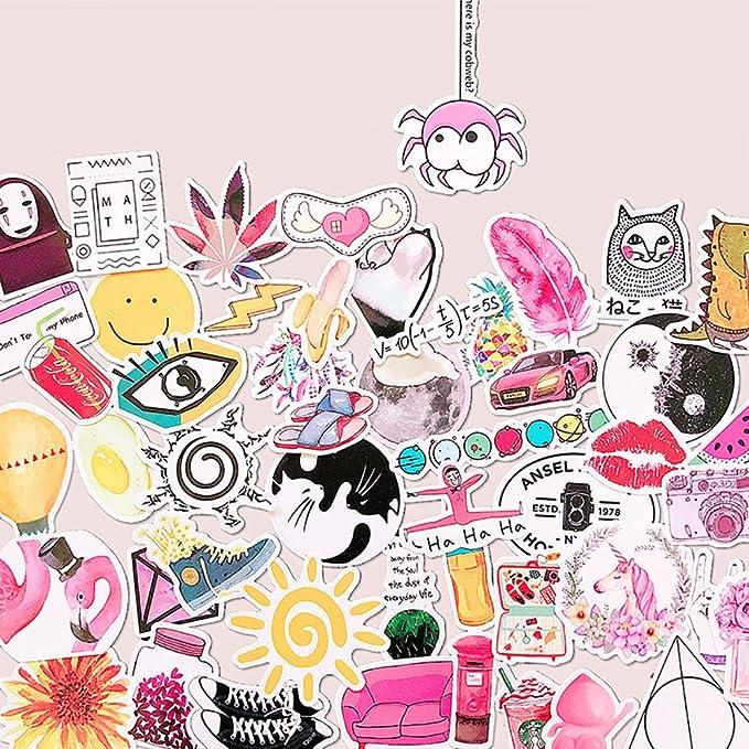 Amazon.com: Pegatinas para portátil con diseño de niña: Home ...