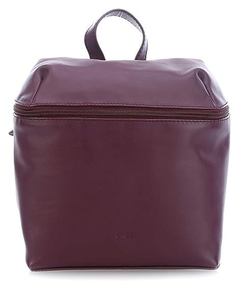 Bree 383171004 - Bolso mochila de Piel Mujer 27x12x23 cm (B x H x T