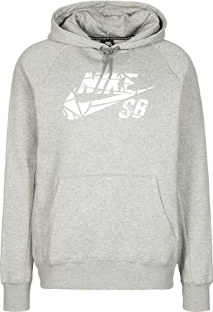 0e5d022d8d Nike SB Icon Grip Tape Pullover Hoodie Men s Skate Boarding Hooded Top -  Grey (X