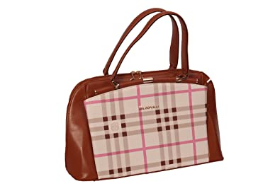 52d6d53e5f4d Beny Other Leather Women s Hand Bag in Polo Pink Color  Amazon.in ...