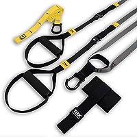 TRX GO Suspension Trainer System (grijs): lichtgewicht en draagbaar| Volledige lichaamstrainingen, alle niveaus en alle…