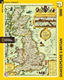 Jigsaw Puzzle ~ New York Puzzle Company ~ SHAKESPEARE'S BRITAIN ~ 1000pc