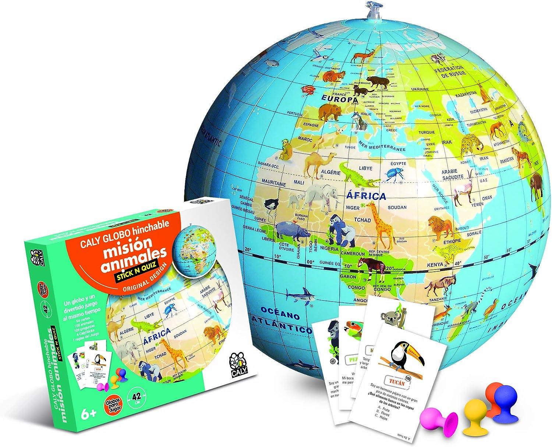 Globo Hinchable Misión Animales: Amazon.es: Juguetes y juegos