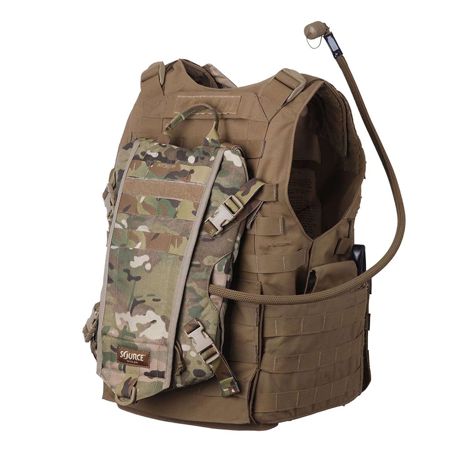 Source Tactical Rider 3-Liter Low Profile Hydration Pack Multicam