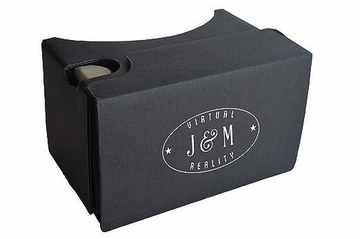 35e28291927 J   M Virtual Reality Kit   45mm Focal Length 3D Google Cardboard ...