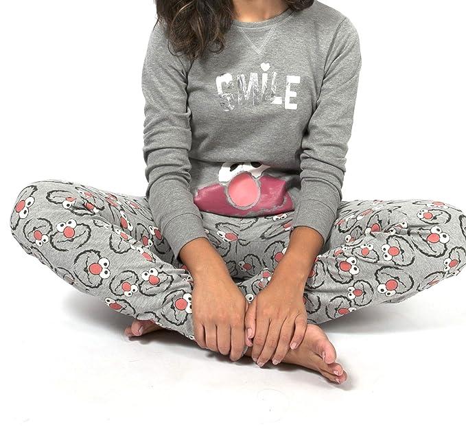 Pijama ELMO-BARRIO SESAMO SMILE para Mujer GISELA (L)