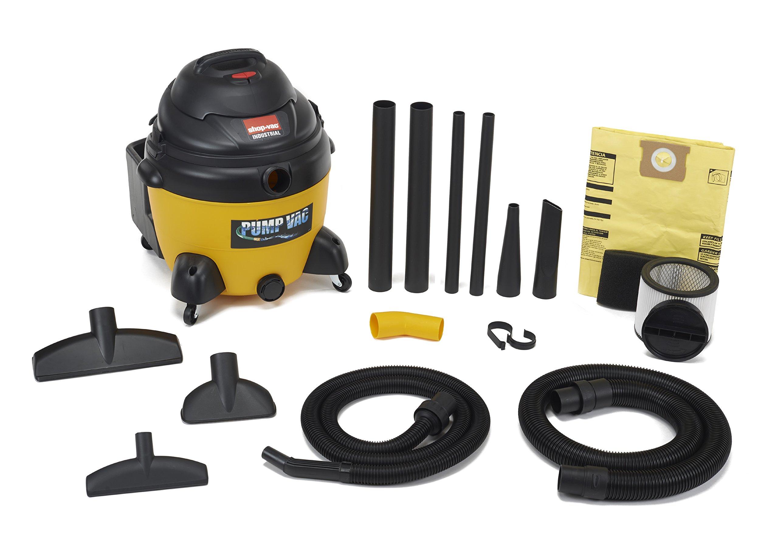 Shop-Vac 9604610 6.5 Peak HP wet Dry Vacuum with Built in Pump, 16-Gallon by Shop-Vac (Image #2)