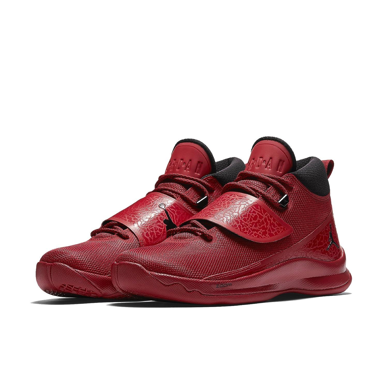 e36a8fecaa2 Amazon.com | Jordan Men's Super Fly 5 Basketball Shoes (13 D(M) US, Gym Red/Black-Gym  Red) | Basketball