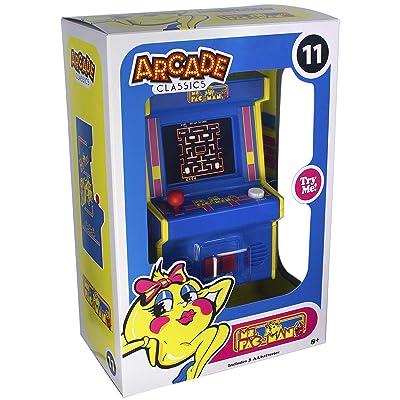 Arcade Classics ms pac-Man Mini Arcade Game: Toys & Games