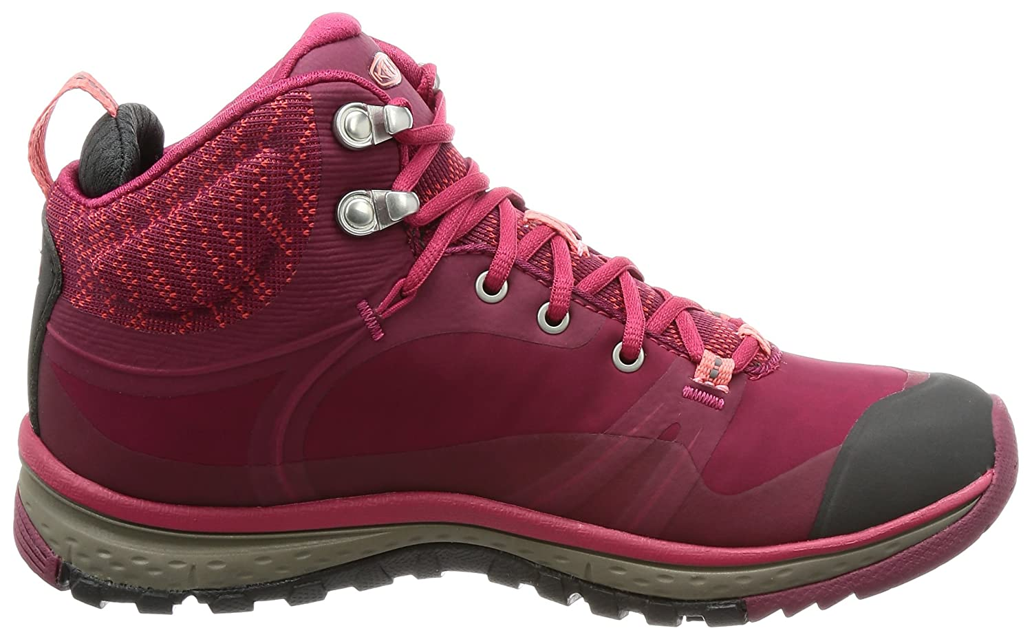 KEEN Women's Terradora Pulse Mid 10 WP-W Hiking Boot B01N2IAL98 10 Mid B(M) US|Rhododendron/Sugar Coral e1fb42