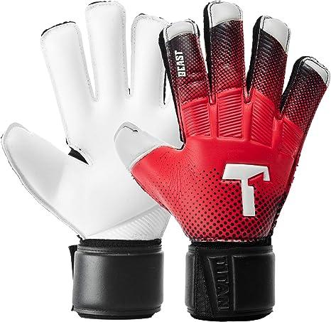 New Football Goalkeeper Goalie Soccer Gloves Kids children size 4 Premier League