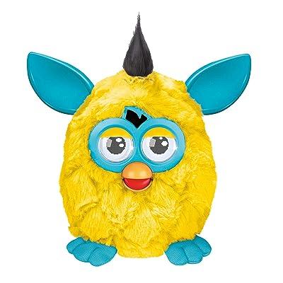 Furby Plush, Yellow/Teal: Toys & Games