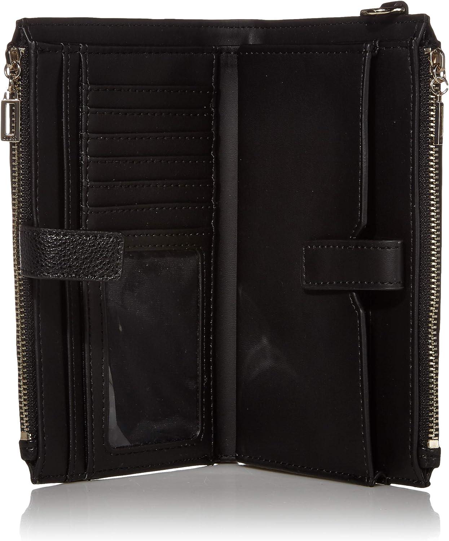 Guess Damen Michy Double Zip Organizer Wallet Geldbörse