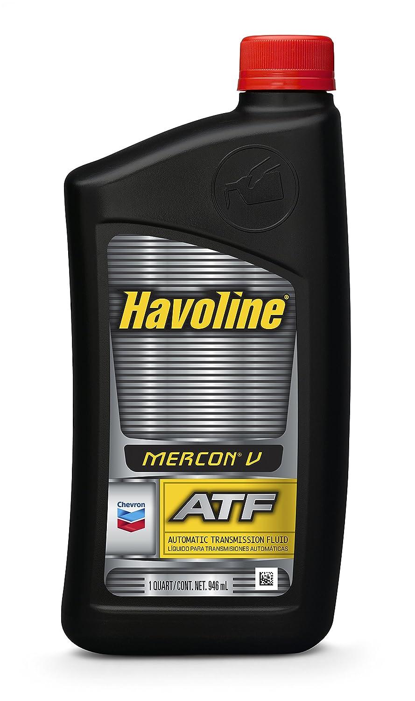 Amazon.com: Havoline MERCON V Automatic Transmission Fluid - 1 Quart:  Automotive