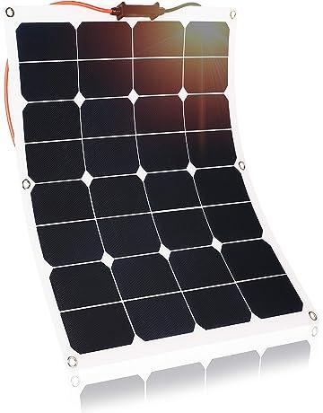 Kingsolar 50W Durable ETFE Semi Flexible Panel Solar Cargador de batería para automóvil, barco,